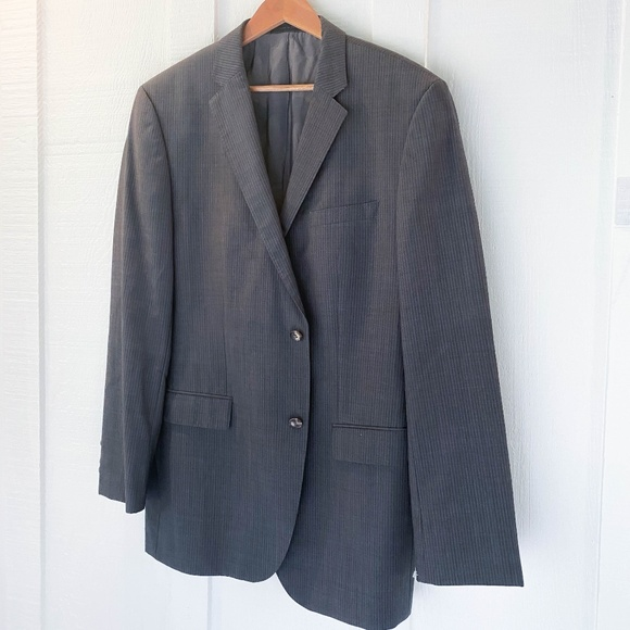 Hugo Boss Other - HUGO BOSS The Jam Sharp Wool Sportcoat Blazer 44L